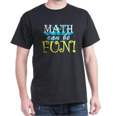 math can be fun t-shirt